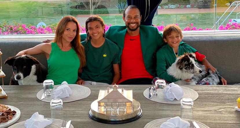 "Tiger Hosts Champions Dinner ""Quarantine Style"""