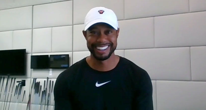 How Tiger Woods Has Been Spending His Quarantine