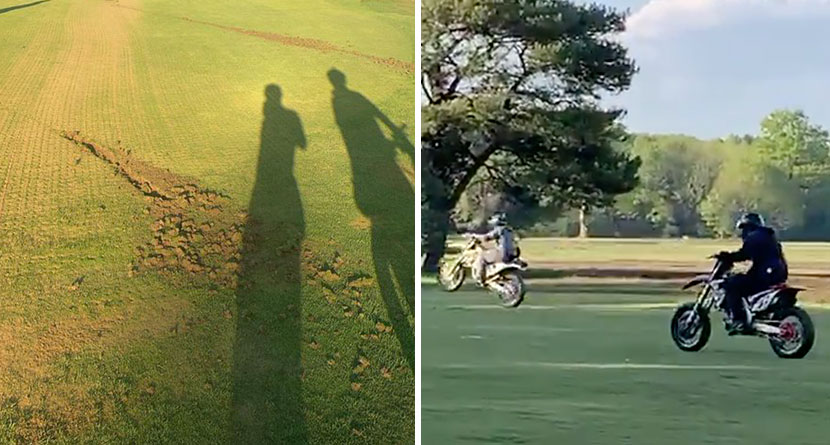 Motorcyclists Caught On Video Vandalizing Top-100 Course