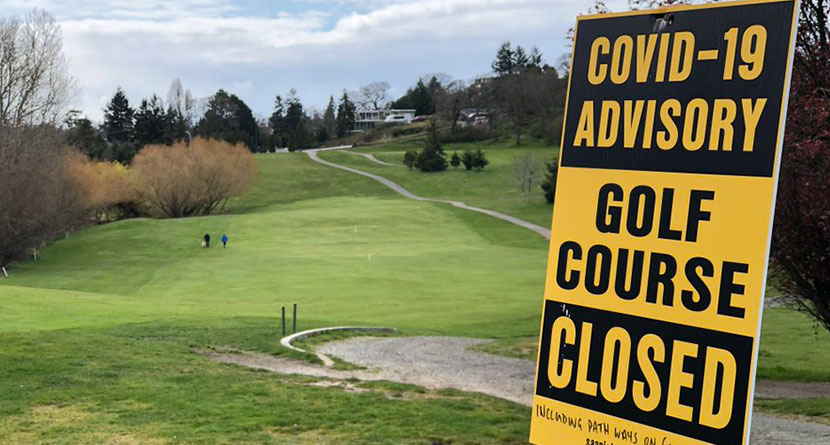 Three States Continue To Keep Golf Courses Closed