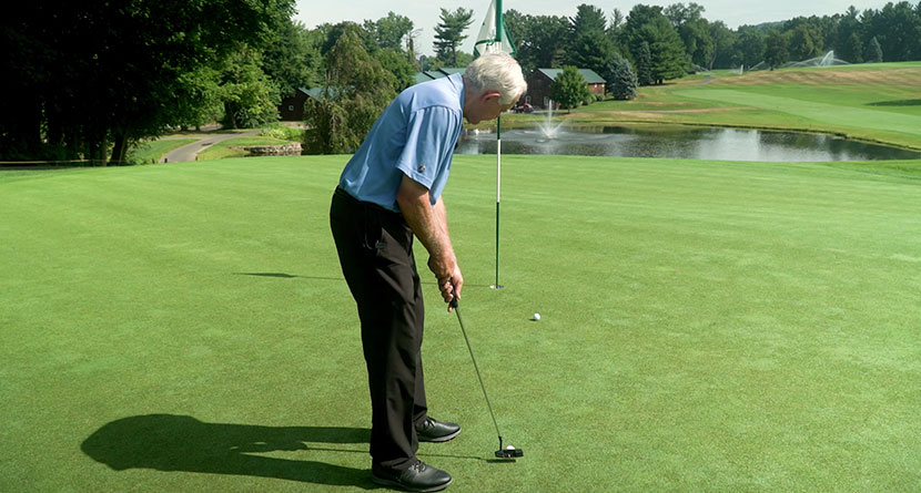 Trick For Making More Downhill Putts