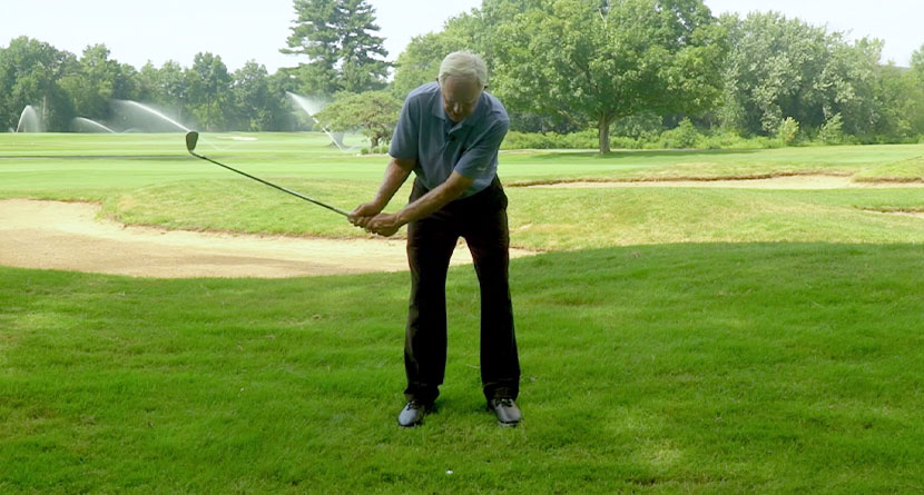 Match Your Practice Swing To The Lie That You Have