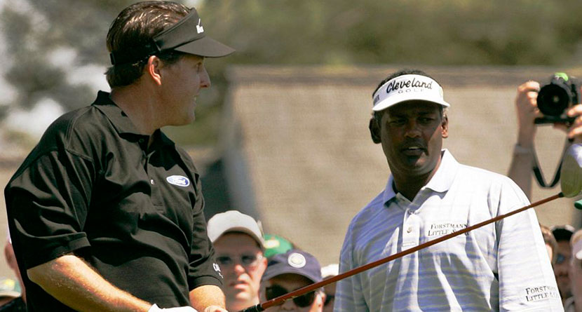 Mickelson Comes To Singh's Defense Over KFT Start