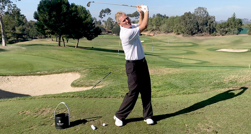 A Swing Flaw That Can Lead To Back Pain