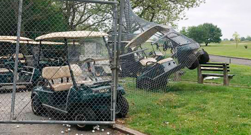 Vandals Steal Carts, Trash Brooklyn Course Causing $100,000 In Damage