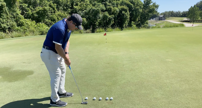 Dial In Distance Control With Downhill Putts