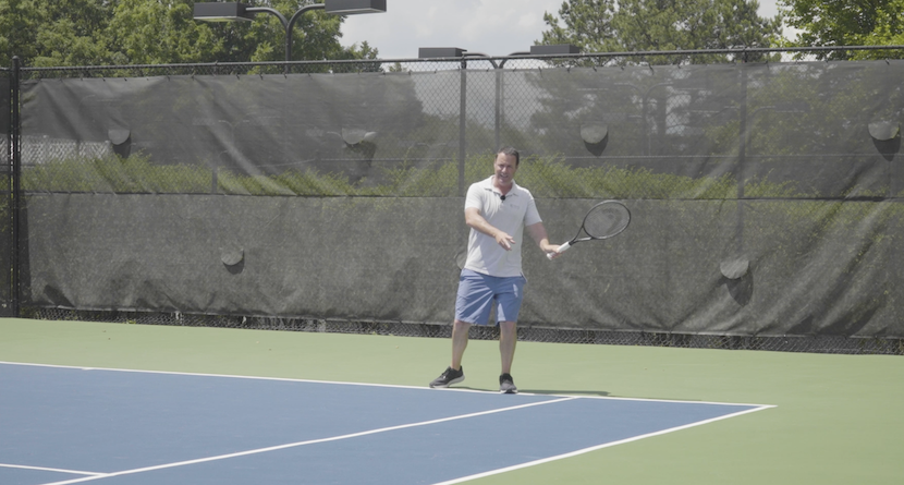 Improving Your Forehand Return Using The 3 Ball Drill