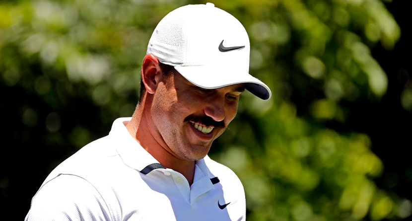 Koepka's F-Bomb Catches Nantz Off Guard