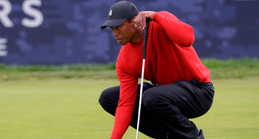 Chamblee Compares Tiger's Body To A Wet Grocery Bag Full Of Milk