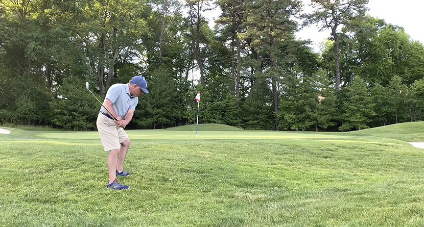 Master The Uphill Pitch Shot