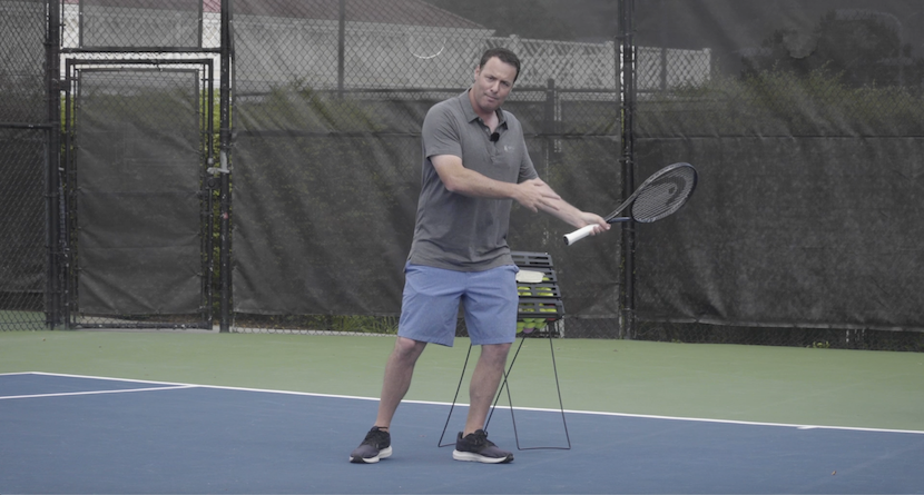 The Agassi Backhand Tip