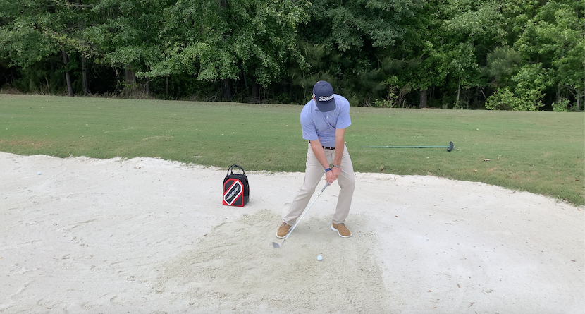 How To Hit The Chunk And Run Shot Out Of The Bunker
