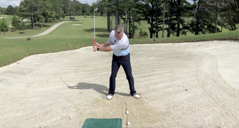 The #1 Reason Golfers Struggle With Bunker Shots