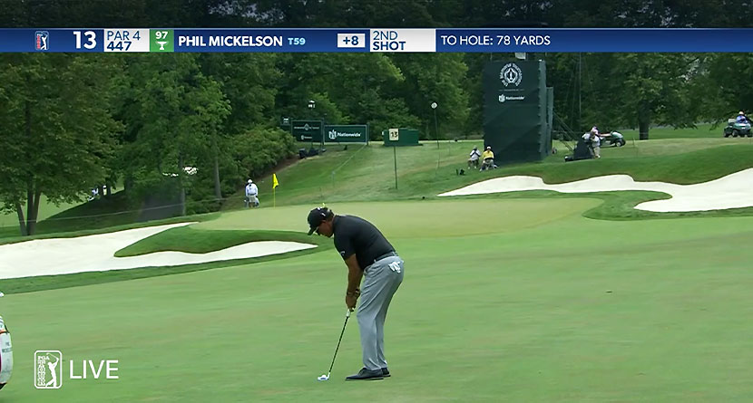 Why Phil Putted From 78 Yards And Laid Up On A Par-3