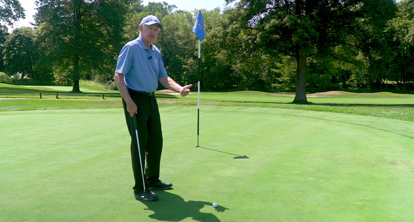 Trick To Making More Uphill Putts