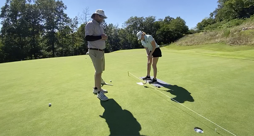 Make More Putts With The Putting Plate