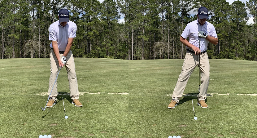 Improve Your Ball Striking With Consistent Ball Position