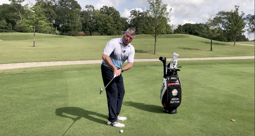 Building Your Arm Structure In Your Backswing