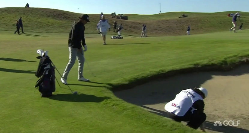 Local Caddie's Rules Breach Costs Player In US Am
