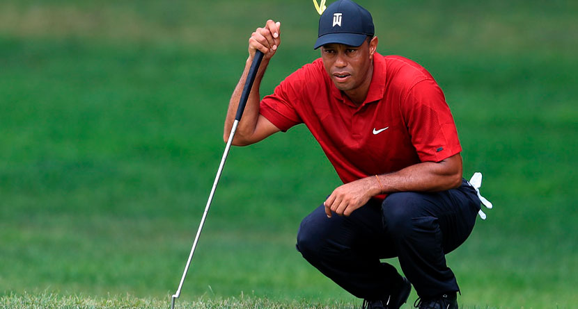 Tiger Replacing Trusty Putter With Backup At PGA Championship