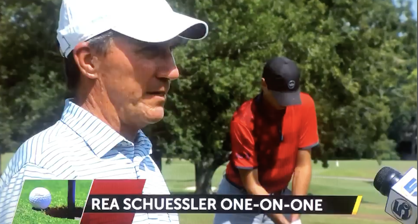 Local CBS Interviews Schuessler at CC of Mobile