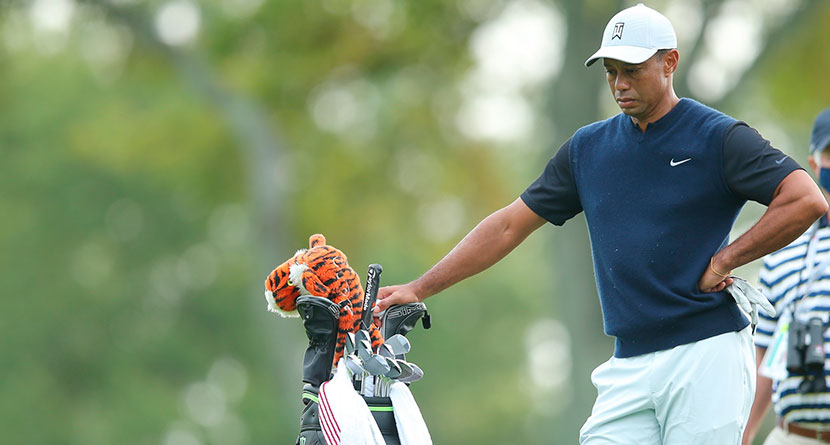 Winged Foot Rough Makes Tiger Look Mortal