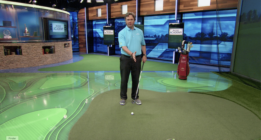 Ball Position Plays An Important Role In Chipping