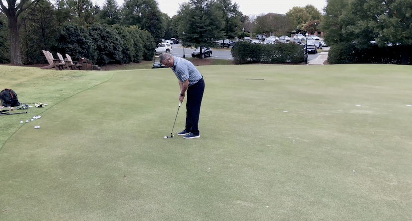 One Of My Favorite Putting Touch Drills…The Bizarro Version