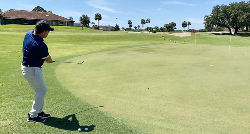 Keys For Chipping To Downhill Targets