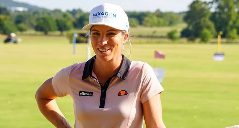 LPGA Pro Hilariously Roasts Caddie In Q&A Segment