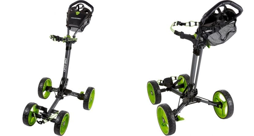 Thanksgiving Giveaway: TourTrek One-Click 4-Wheel Push Cart