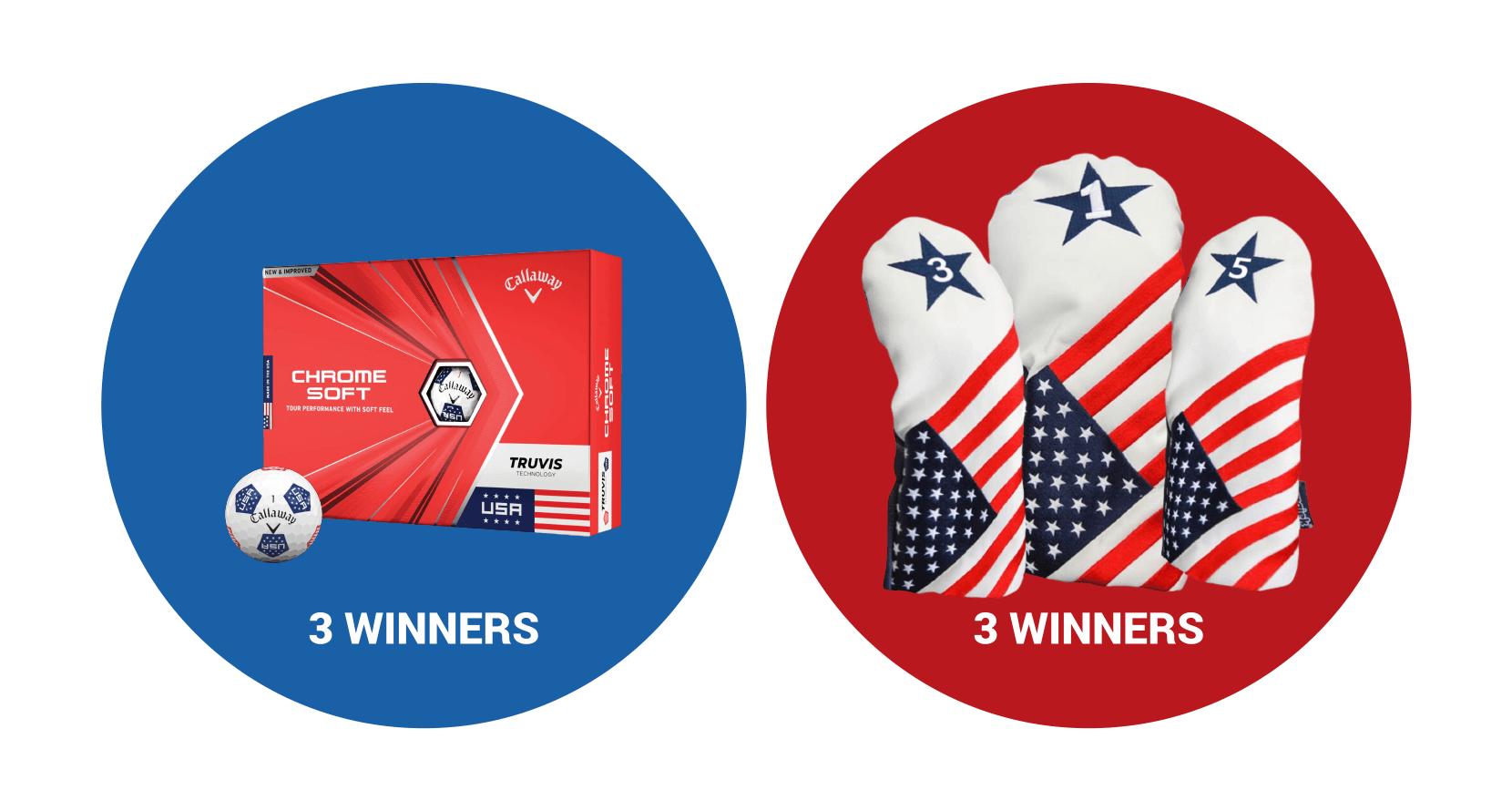 Veterans Day Giveaway: Callaway Golf Balls + USA Headcovers