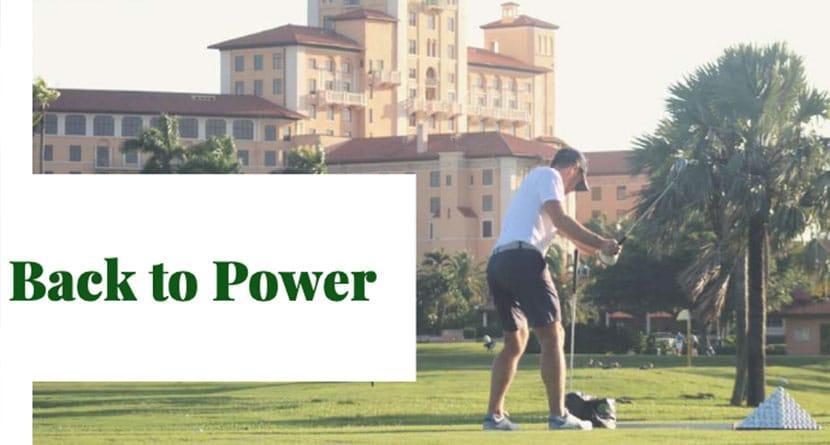 The Complexity Of Power In Golf – Making It All Work / Back To Power