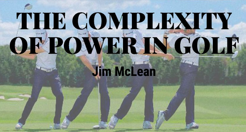The Complexity Of Power In Golf – How It Happens