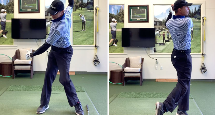 Compress The Ball With Better Hip Rotation