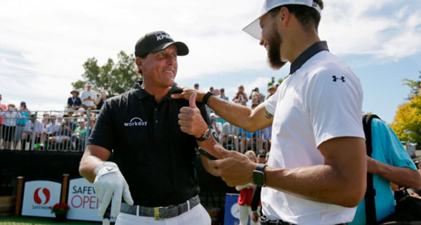 Phil, Curry Ratchet Up Match III Trash Talk