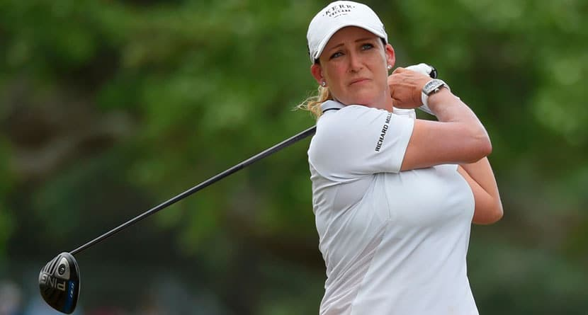Cristie Kerr Rushed To Emergency Room Following Cart Accident