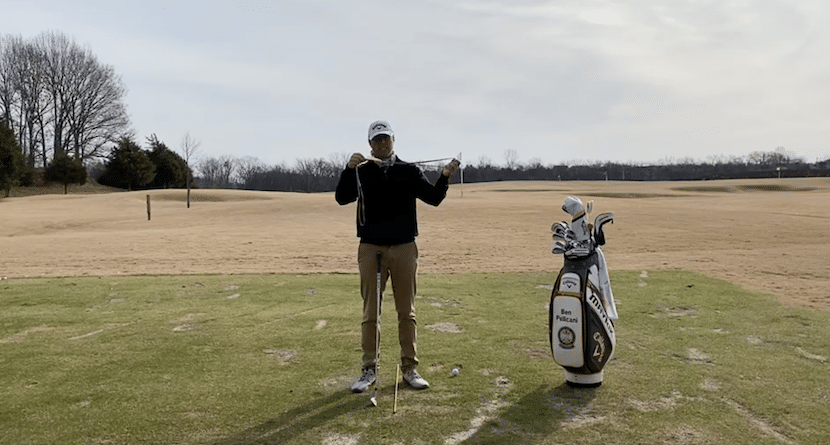 Width In The Backswing Band Drill