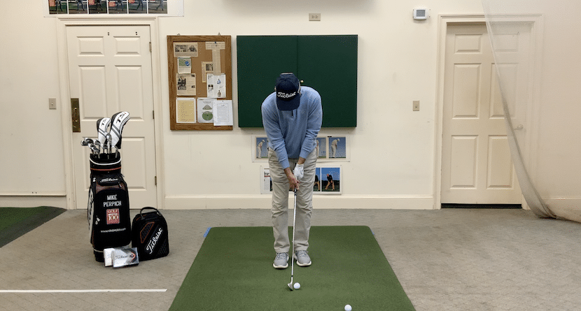 Executing The Chipping Stroke