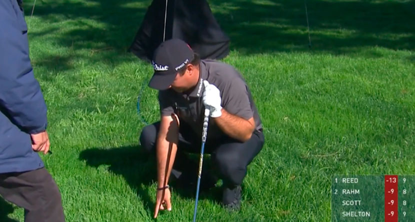 Reed Involved In Controversial Embedded Ball Ruling