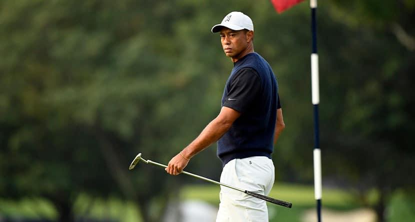Woods Announces He Underwent Fifth Back Surgery