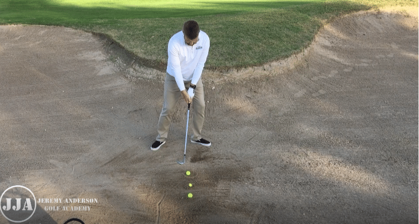 Bunker Shots With Adverse Lies