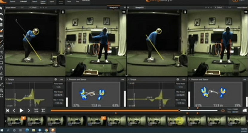 Pivot Style In Your Backswing