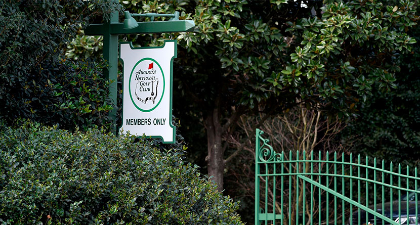 Man Arrested After Trespassing At Augusta National Golf Club
