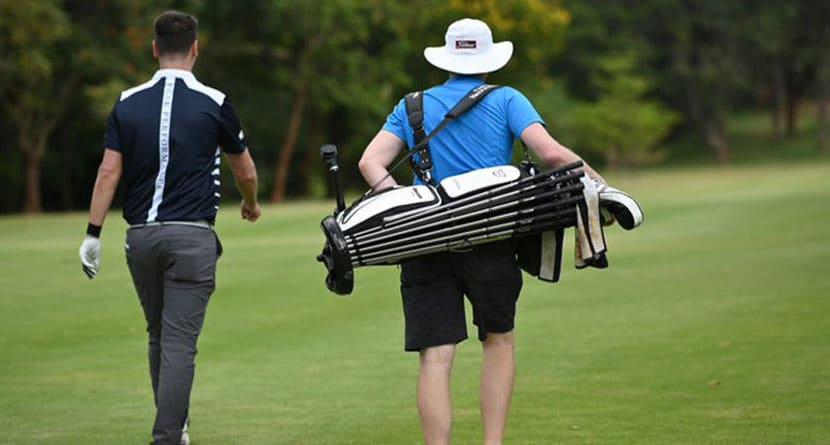 European Pro's Bizarre Golf Bag Has Hefty Price Tag