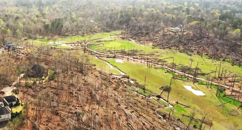 Tornadoes Rip Through South, Damage Shoal Creek Club