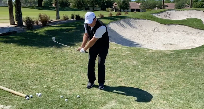 A Trick For Shots Around The Green