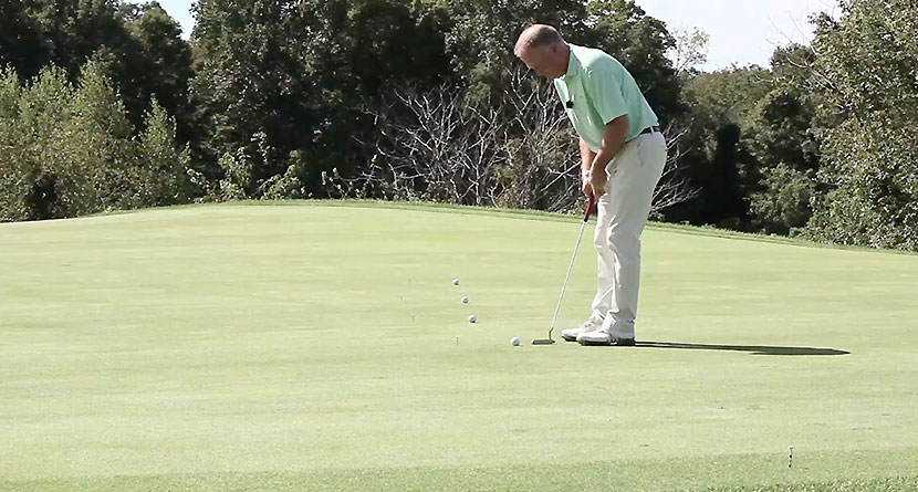 Easy Drill To Help With The Pace Of Your Putts