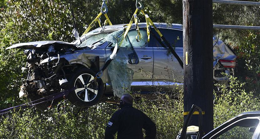 Excessive Speeding Deemed Reason For Woods Crash