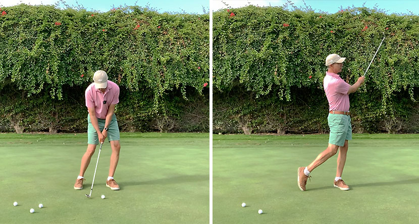 Hit High Soft Shots On The Green